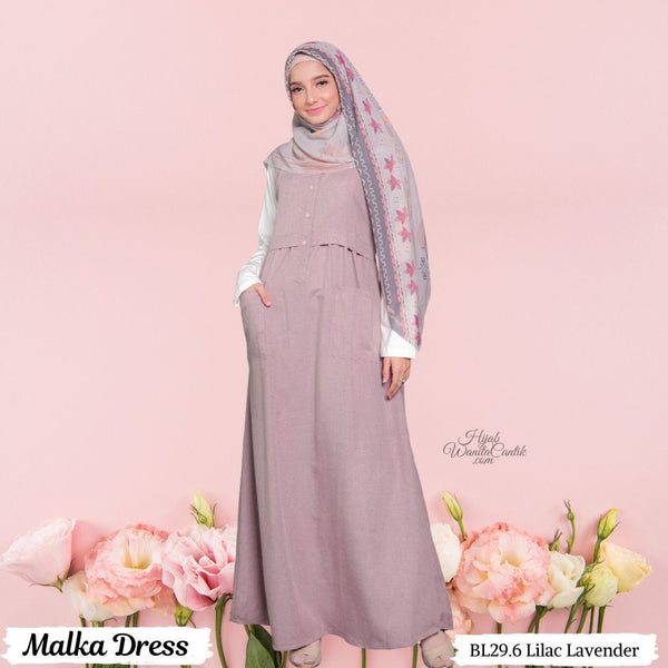 Malka Dress  - BL29.6 Lilac Lavender
