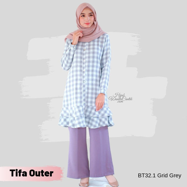 Tifa Outer - BT32.1 Grid Grey