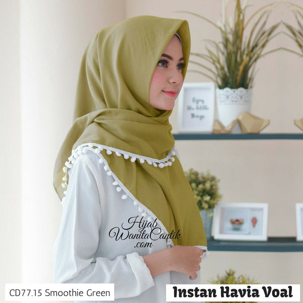 Instan Havia Voal  - CD77.15 Smoothie Green