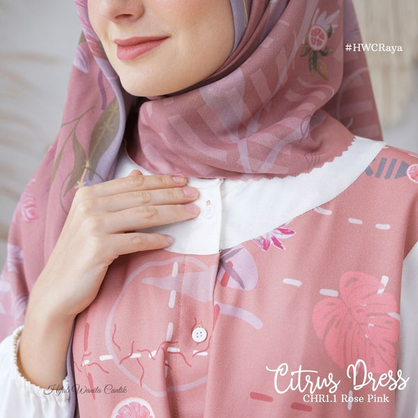 Citrus Dress - CHR1.1 Rose Pink