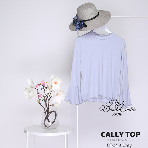 Cally TOP - CTC4.3 Grey