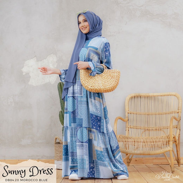 Sunny Dress - DB84.20 Morocco Blue