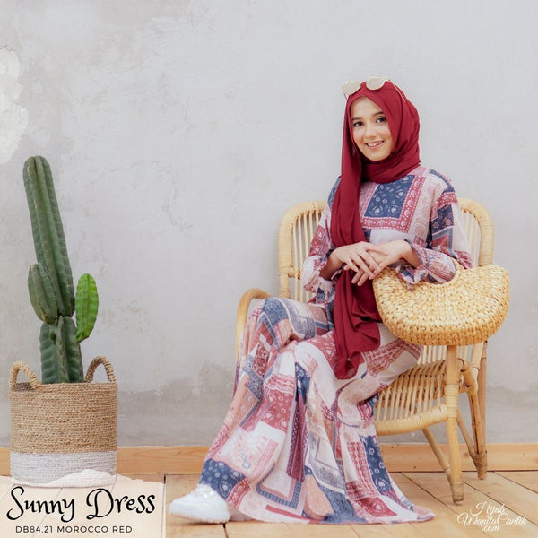 Sunny Dress - DB84.21 Morocco Red