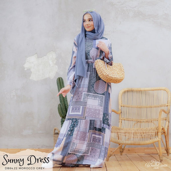 Sunny Dress - DB84.22 Morocco Grey