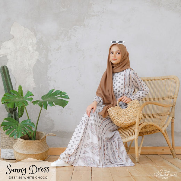 Sunny Dress - DB84.29 White Choco