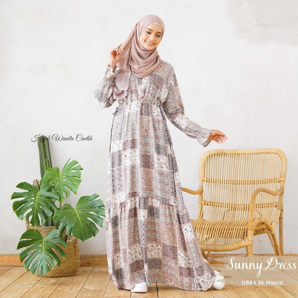 Sunny Dress Antalia - DB84.36 Mocca
