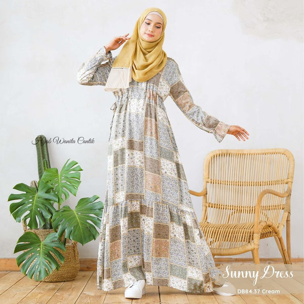 Sunny Dress Antalia - DB84.37 Cream