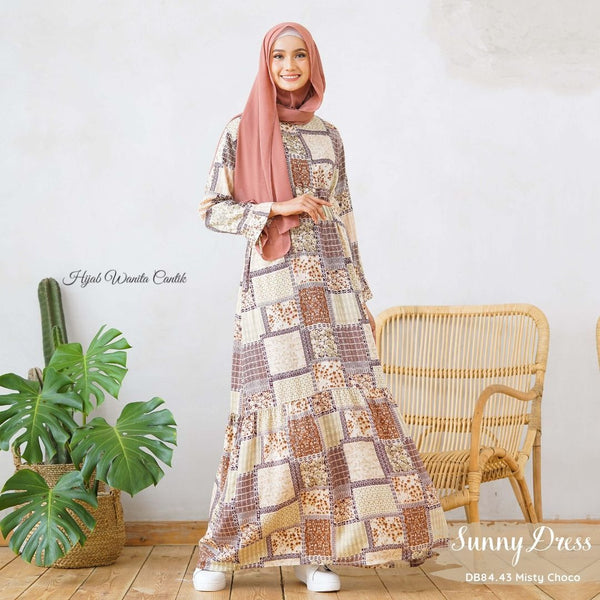 Sunny Dress Adana - DB84.43 Misty Choco