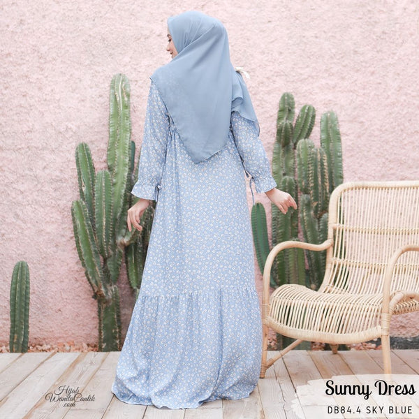 Sunny Dress - DB84.4 Sky Blue