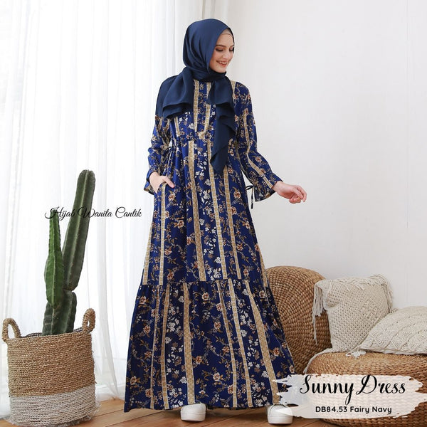 Sunny Dress - DB84.53 Fairy Navy