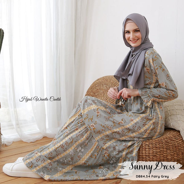 Sunny Dress - DB84.54 Fairy Grey