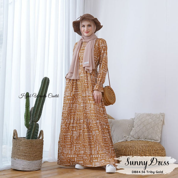 Sunny Dress - DB84.56 Triby Gold
