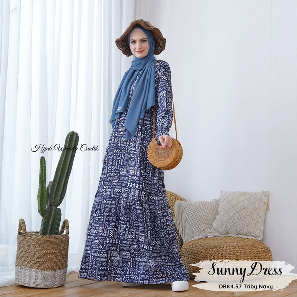 Sunny Dress - DB84.57 Triby Navy