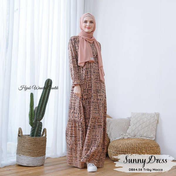 Sunny Dress - DB84.58 Triby Mocca