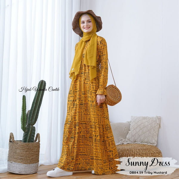 Sunny Dress - DB84.59 Triby Mustard