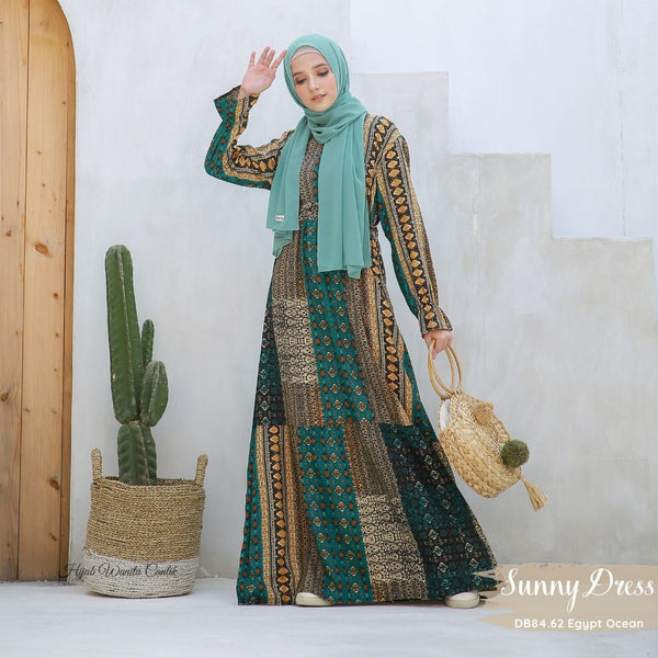 Sunny Dress - DB84.62 Egypt Ocean