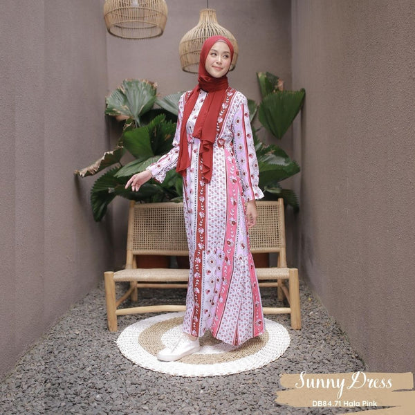 Sunny Dress - DB84.71 Hala Pink