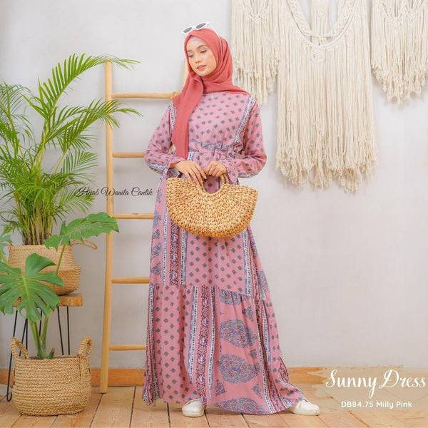 Sunny Dress - DB84.75 Milly Pink