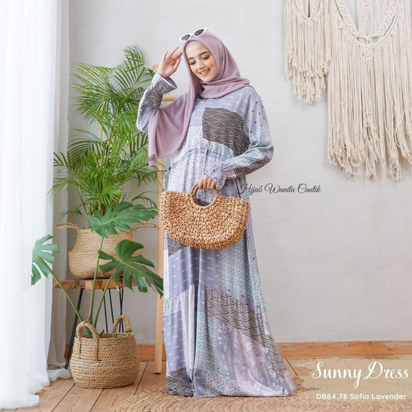 Sunny Dress - DB84.78 Sofia Lavender
