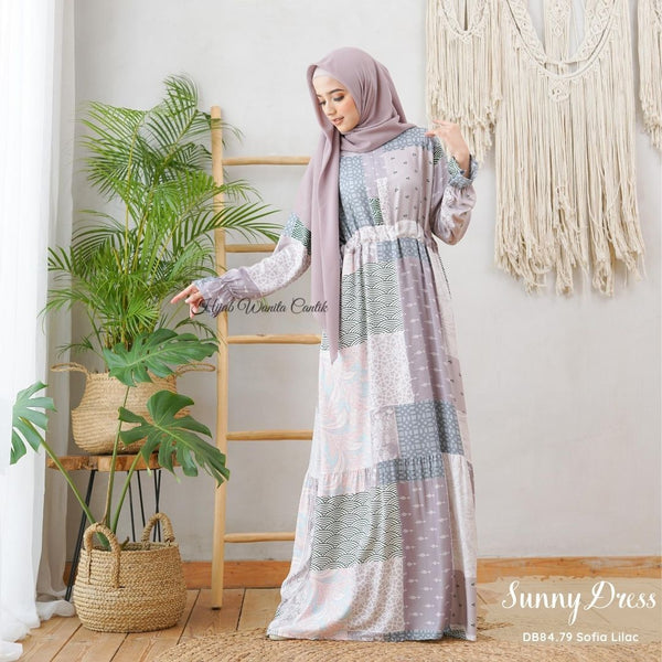 Sunny Dress - DB84.79 Sofia Lilac