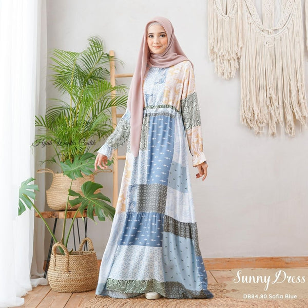 Sunny Dress - DB84.80 Sofia Blue