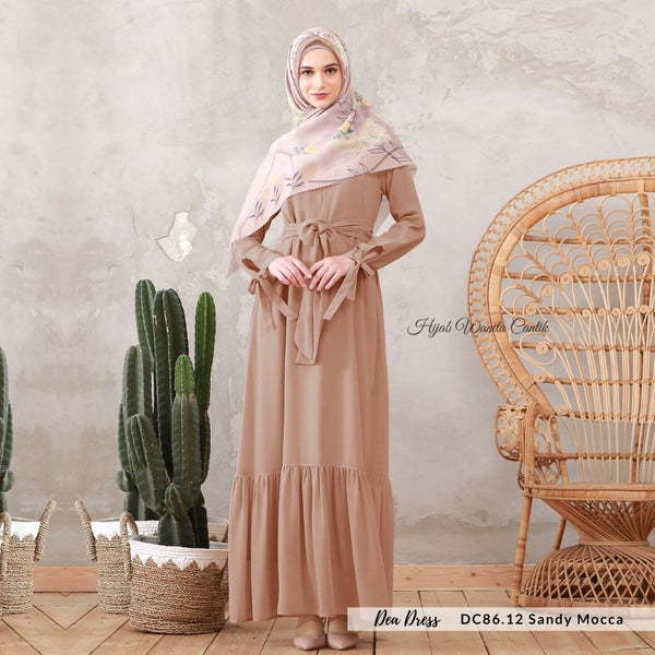 Dea Dress - DC86.12 Sandy Mocca