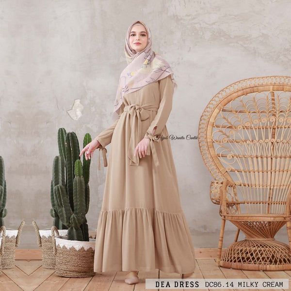 Dea Dress - DC86.14 Milky Cream