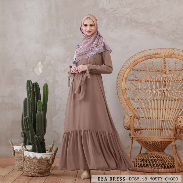 Dea Dress - DC86.18 Misty Choco