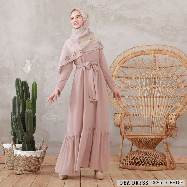 Dea Dress - DC86.3 Beige