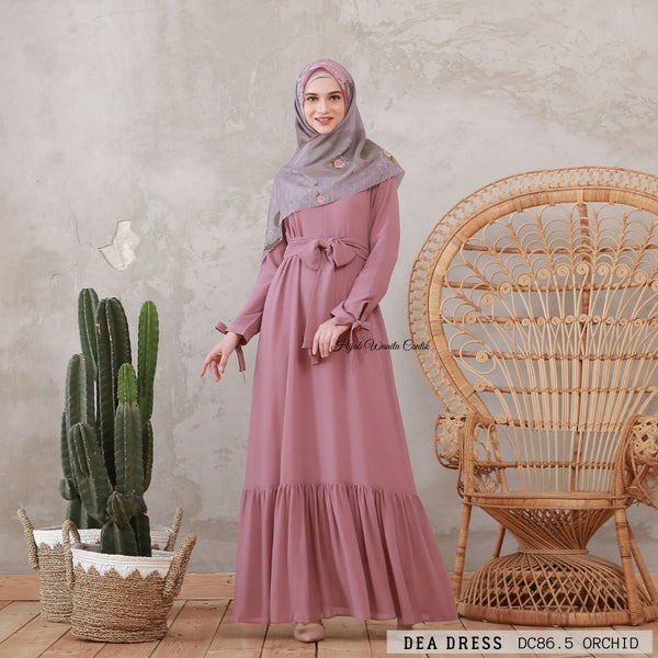 Dea Dress - DC86.5 Orchid