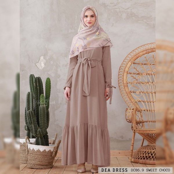 Dea Dress - DC86.9 Sweet Choco