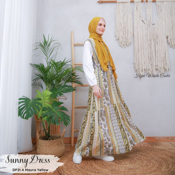 Sunny Dress - DP21.4 Maura Yellow