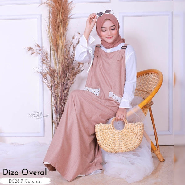Diza Overall - DS28.7 Caramel