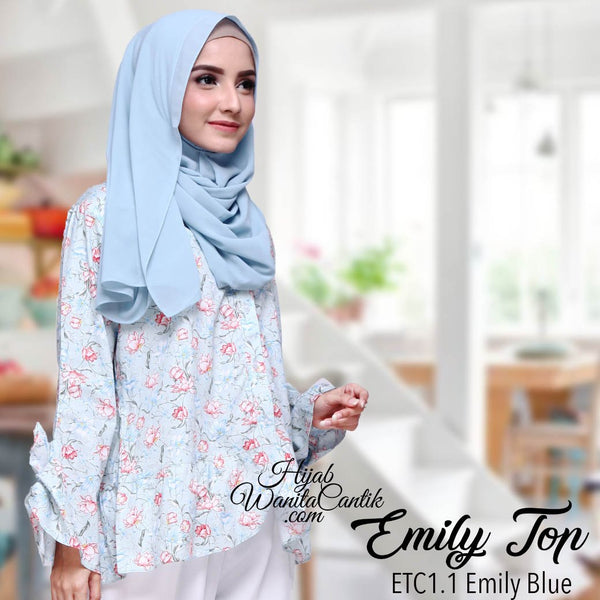 Emily Top - ETC1.1 Emily Blue