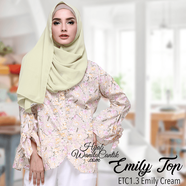 Emily Top - ETC1.3 Emily Cream