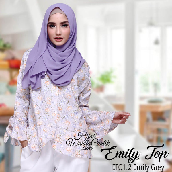 Emily Top - ETC1.2 Emily Grey