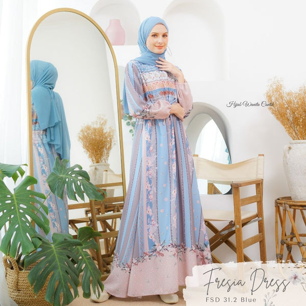 Fresia Dress - FSD 31.2 Blue