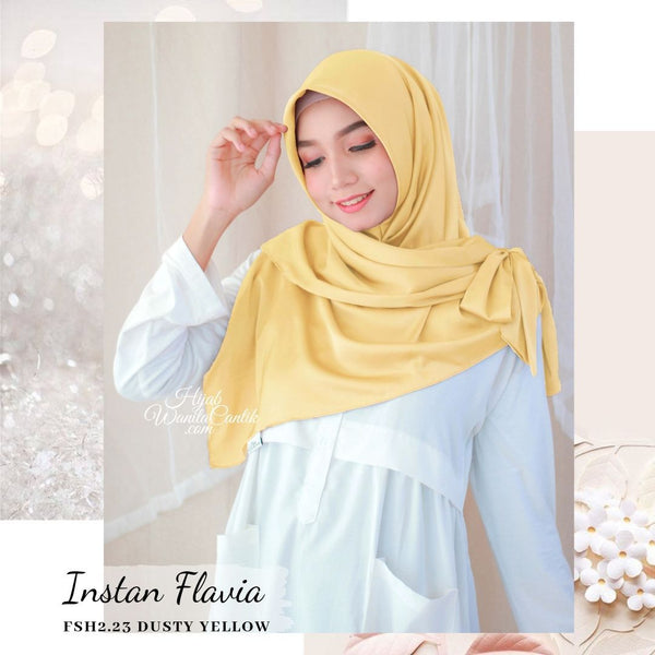 Instan Flavia - FSH2.23 Dusty Yellow