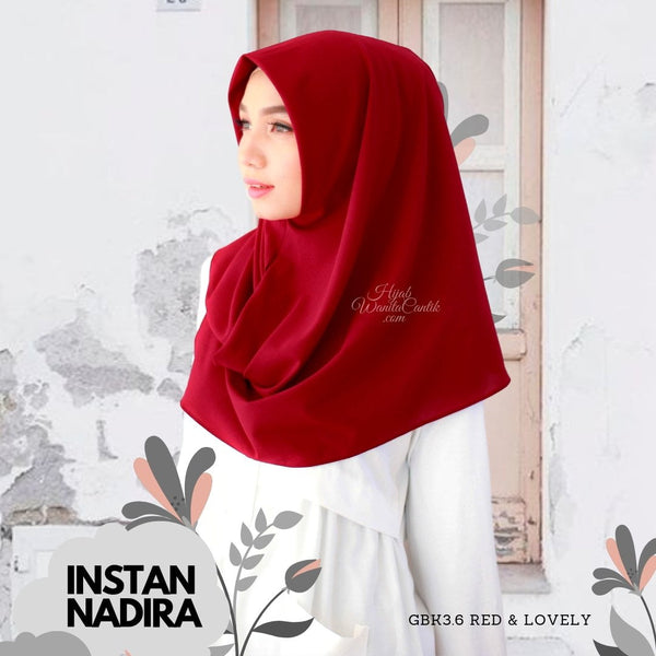 Instan Nadira  - GBK3.6 Red & Lovely
