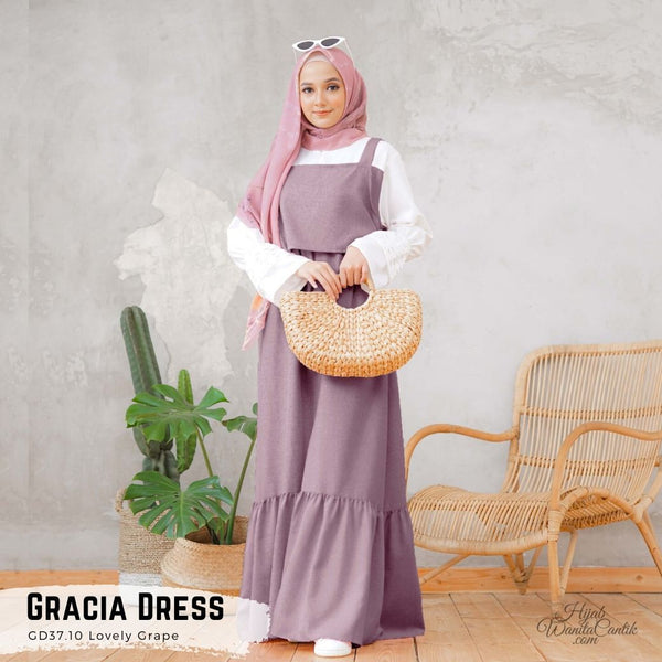 Gracia Dress - GD37.10 Lovely Grape