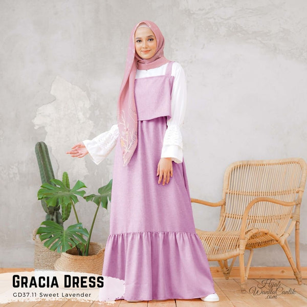 Gracia Dress - GD37.11 Sweet Lavender