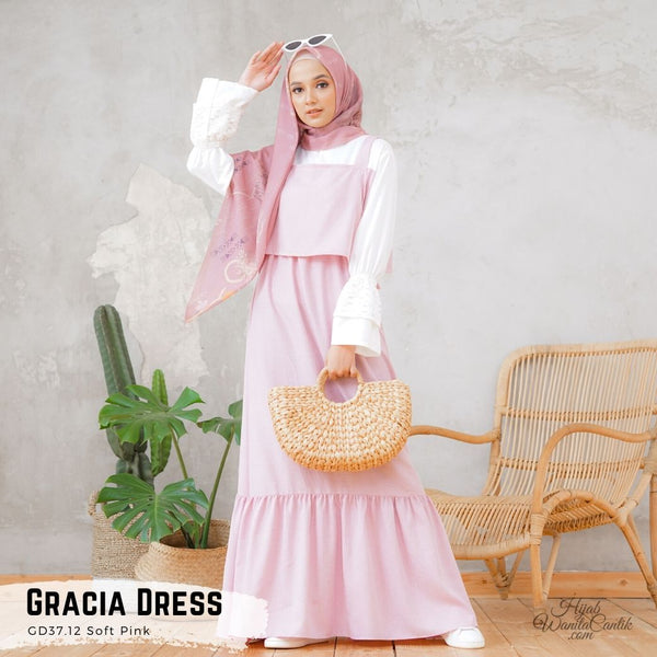 Gracia Dress - GD37.12 Soft Pink
