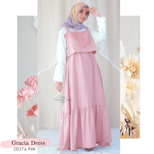 Gracia Dress - GD37.6 Pink
