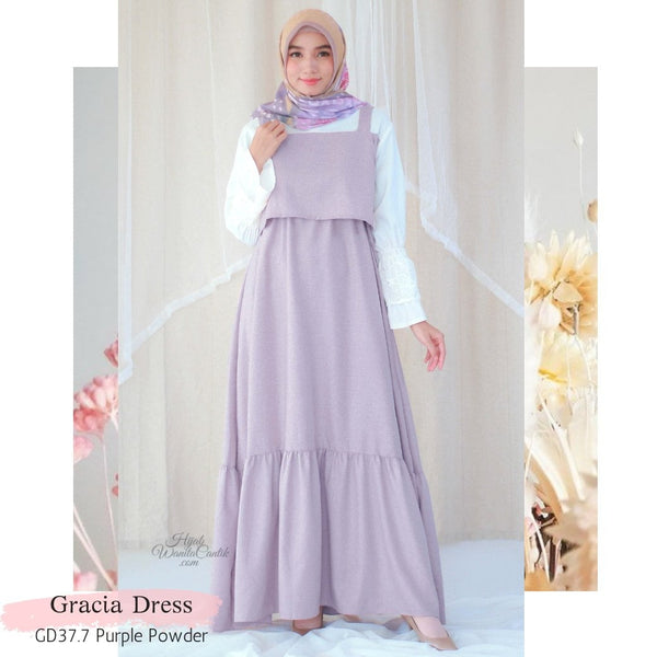 Gracia Dress - GD37.7 Purple Powder