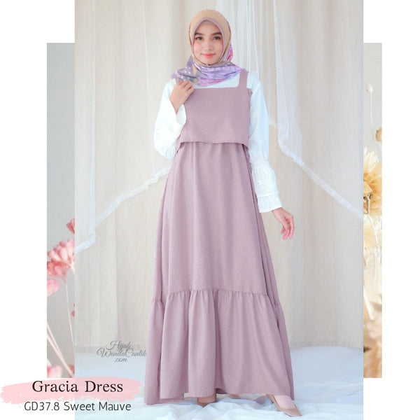 Gracia Dress - GD37.8 Sweet Mauve