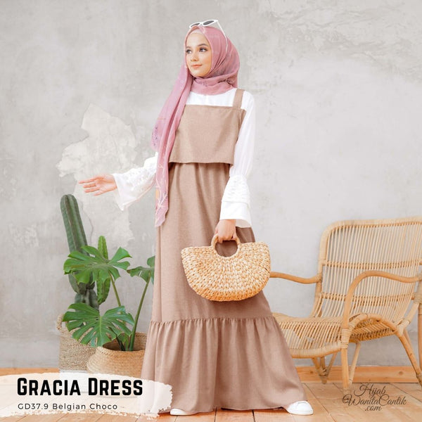 Gracia Dress - GD37.9 Belgian Choco