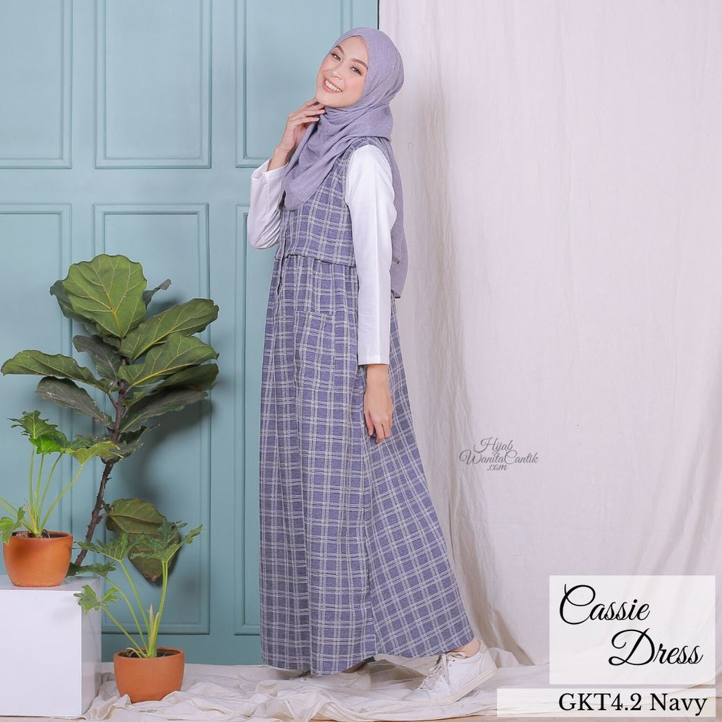 Cassie Dress - GKT4.2 Navy