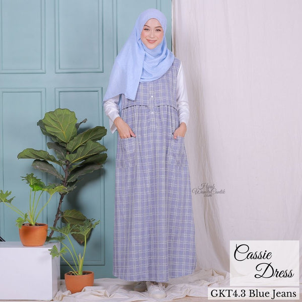 Cassie Dress - GKT4.3 Blue Jeans