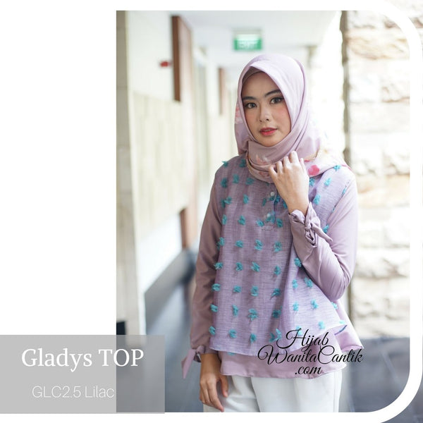 Gladys Top - GLC2.5 Lilac
