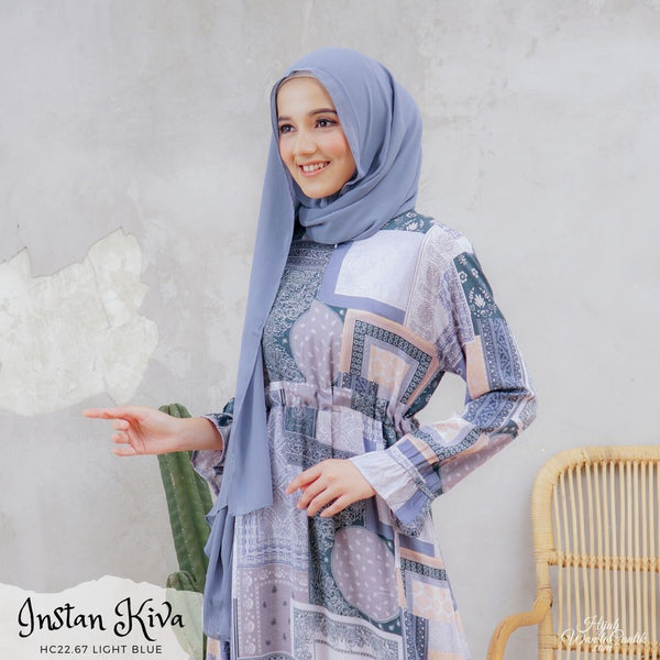 Instan Kiva - HC22.67 Light Blue